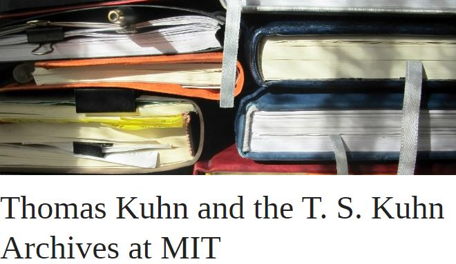 Thomas Kuhn and the T. S. Kuhn Archives at MIT | OUPblog