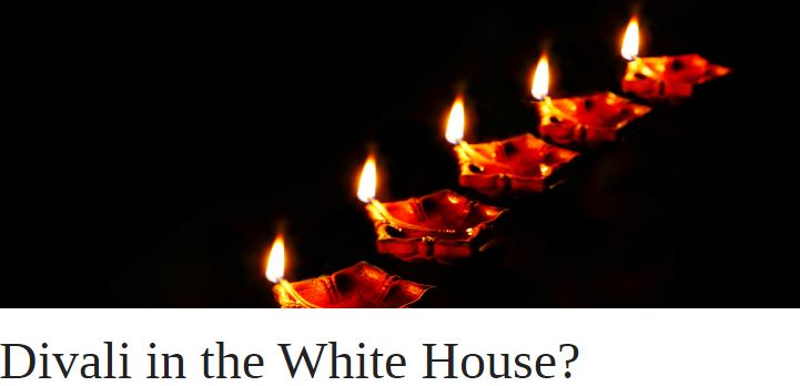 Divali in the White House? | OUPblog
