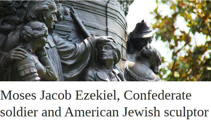Moses Jacob Ezekiel, Confederate Soldier and American Jewish Sculptor | OUPblog