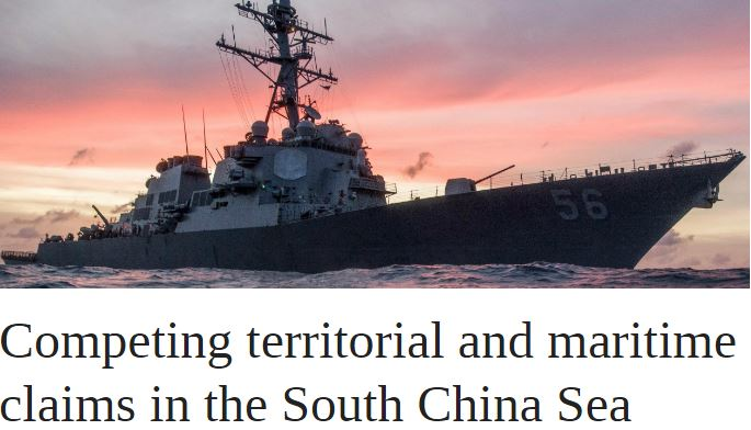 Competing territorial and maritime claims in the South China Sea | OUPblog